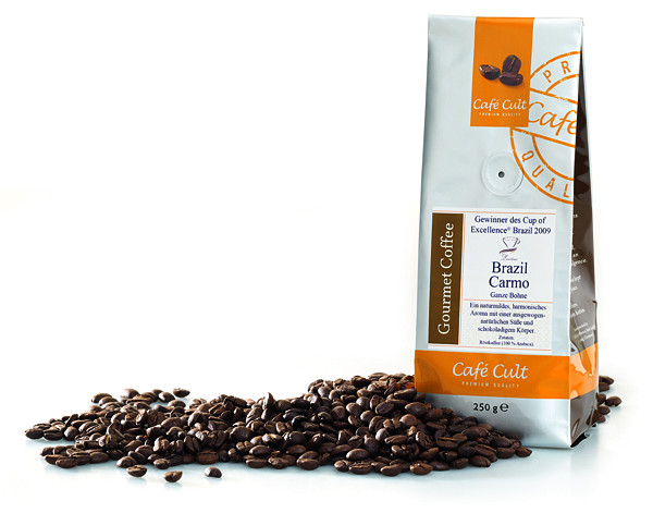 "Cafe Cult ""Cup of Excellence"" Brazil Carmo 250g"