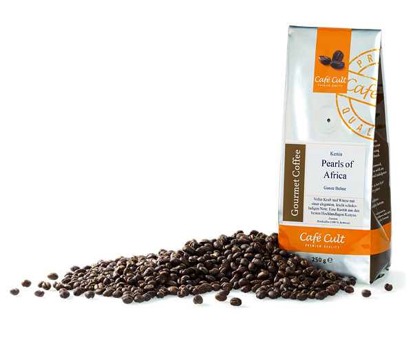 "Cafe Cult Kenia ""Pearls of Africa""  250g"